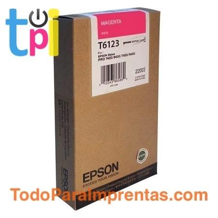 Tinta Epson SP 7400/7450/9400/9450 Magenta 220 ml.