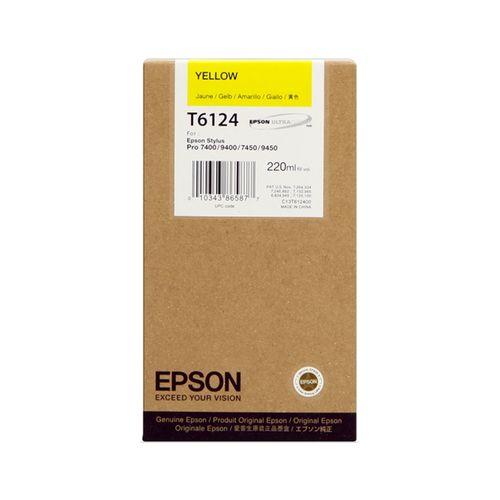 Tinta Epson SP 7400/7450/9400/9450 Amarillo 220 ml.