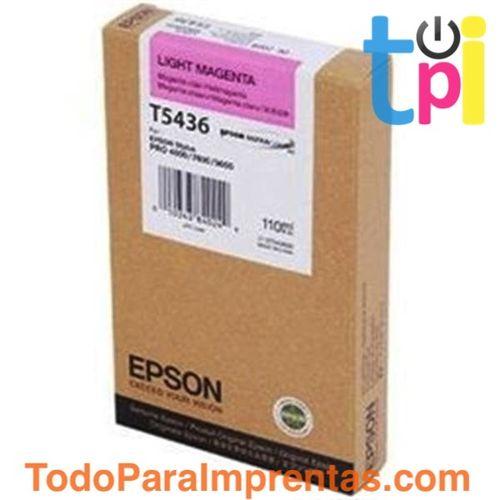 Tinta Epson SP 4000/7600/9600 Magenta Claro 110 ml.