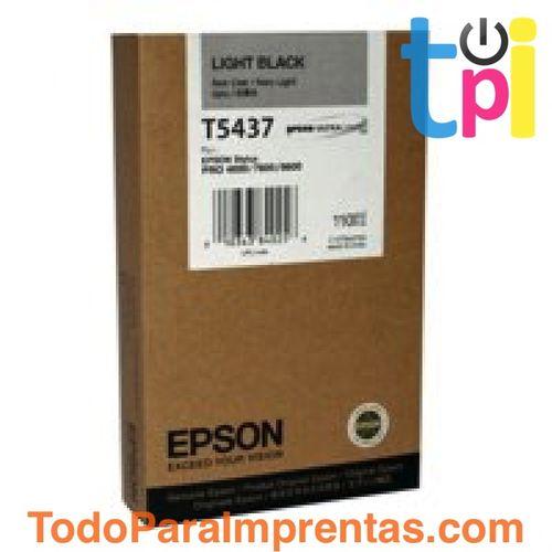 Tinta Epson SP 4000/7600/9600 Gris Claro 110 ml.
