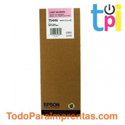 Tinta Epson SP 4000/7600/9600 Magenta Claro 220 ml.