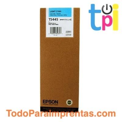 Tinta Epson SP 4000/7600/9600 Cian Claro 220 ml.