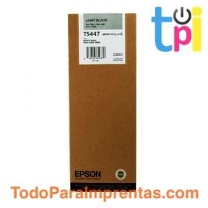 Tinta Epson SP 4000/7600/9600 Gris Claro 220 ml.