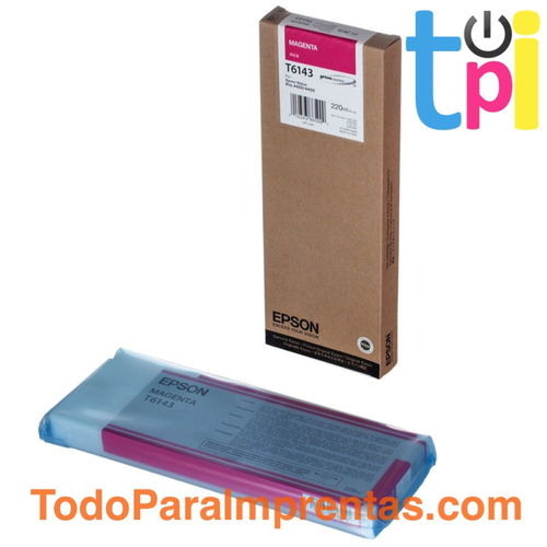 Tinta Epson SP 4400/4450 Magenta 220 ml.