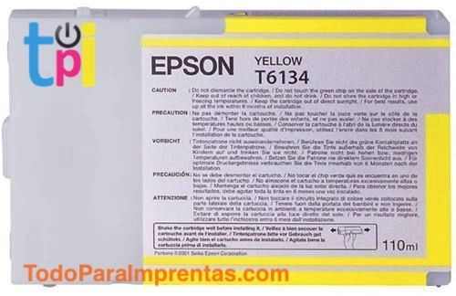 Tinta Epson SP 4400/4450 Amarillo 110 ml.