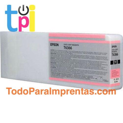 Tinta Epson C13T636600 Magenta Claro 700 ml