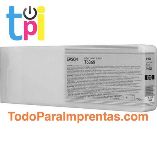 Tinta Epson C13T636900 Gris Claro 700 ml.