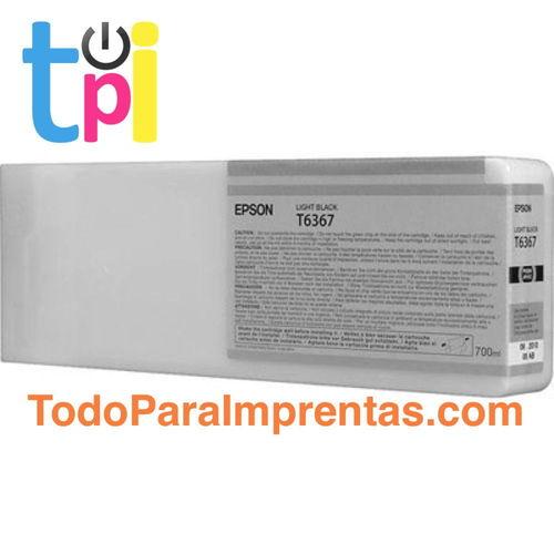 Tinta Epson C13T636700 Gris 700 ml.
