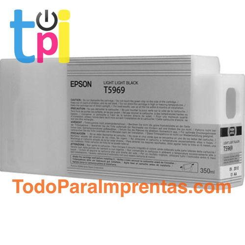 Tinta Epson C13T596900 Gris Claro 350 ml.
