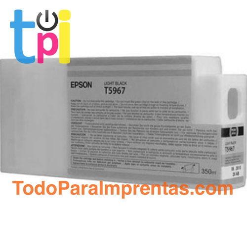 Tinta Epson C13T596700 Gris 350 ml.