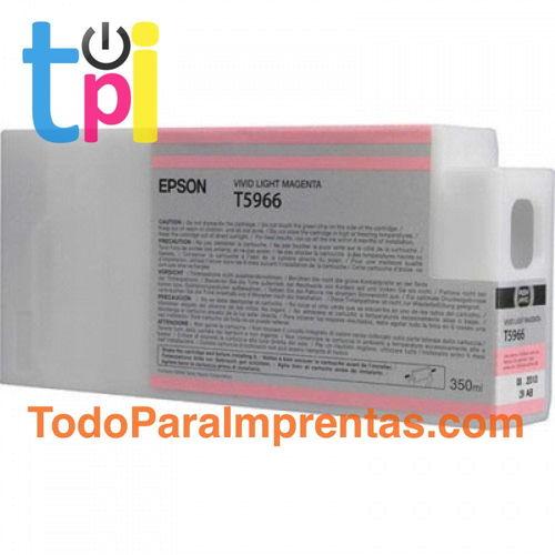 Tinta Epson C13T596600 Magenta Claro 350 ml.