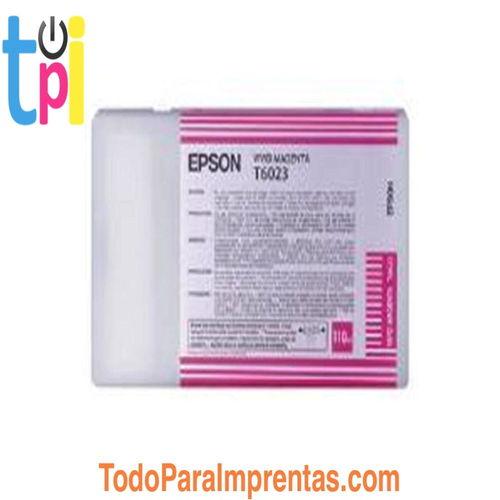 Tinta Epson C13T602300 Magenta 110 ml.