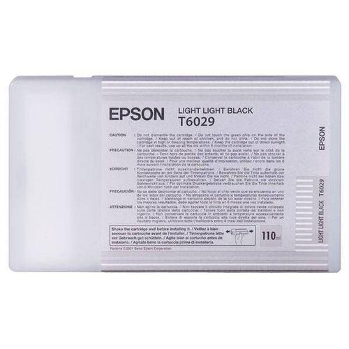 Tinta Epson C13T602900 Gris Claro 110 ml.