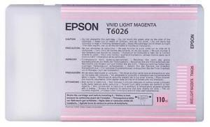 Tinta Epson C13T602600 Magenta Claro 110 ml.