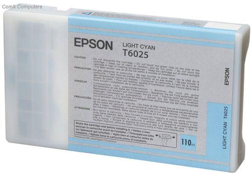 Tinta Epson C13T602500 Cian Claro 110 ml.