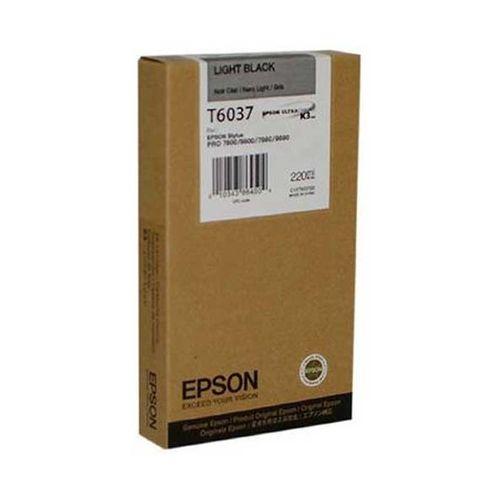 Tinta Epson C13T603700 Gris 220 ml.