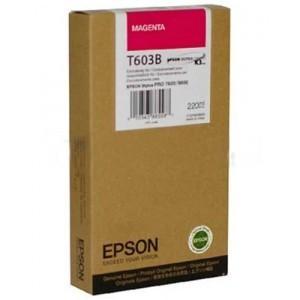 Tinta Epson C13T603B00 Magenta 220 ml.