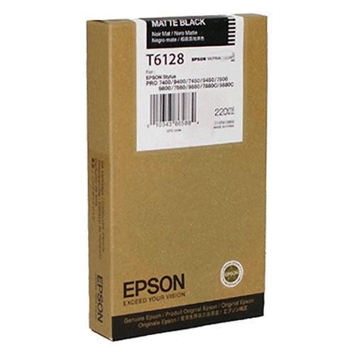 Tinta Epson C13T612800 Negro Mate 220 ml.