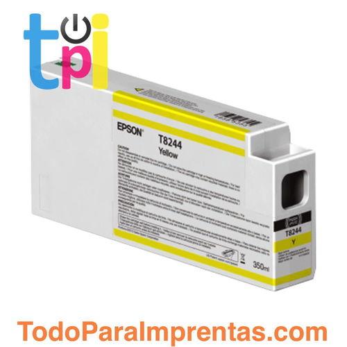Tinta Epson C13T824400 Amarillo 350 ml.