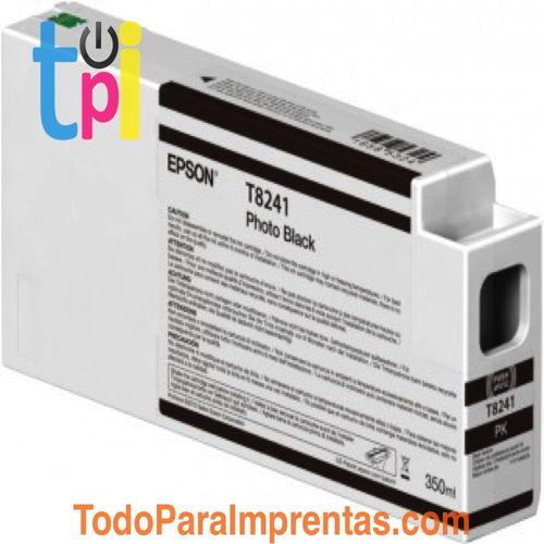 Tinta Epson C13T824100 Negro 350 ml.