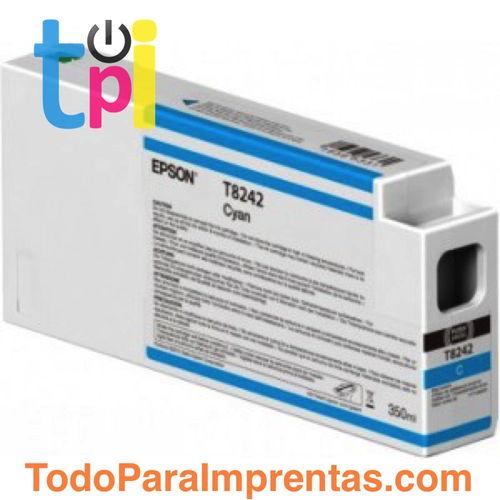 Tinta Epson C13T824200 Cian 350 ml.