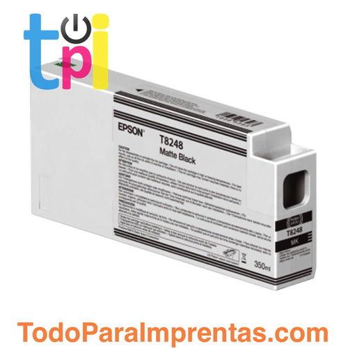 Tinta Epson C13T824800 Negro Mate 350 ml.