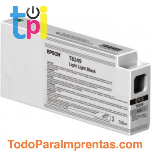 Tinta Epson C13T824900 Gris Claro 350 ml.
