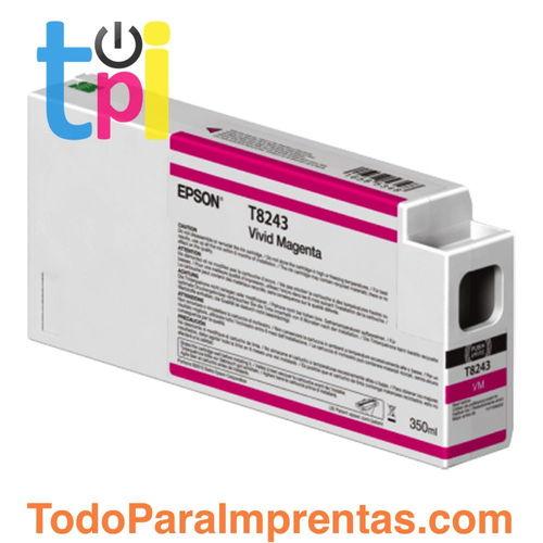 Tinta Epson C13T824300 Magenta 350 ml.