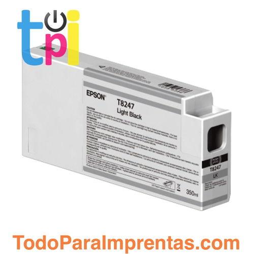 Tinta Epson C13T824700 Gris 350 ml.