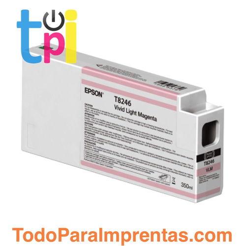 Tinta Epson C13T824600 Magenta Claro 350 ml.