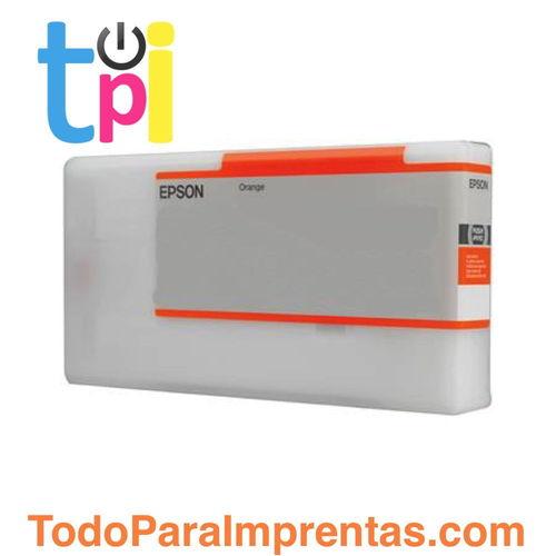 Tinta Epson C13T824A00 Naranja 350 ml.