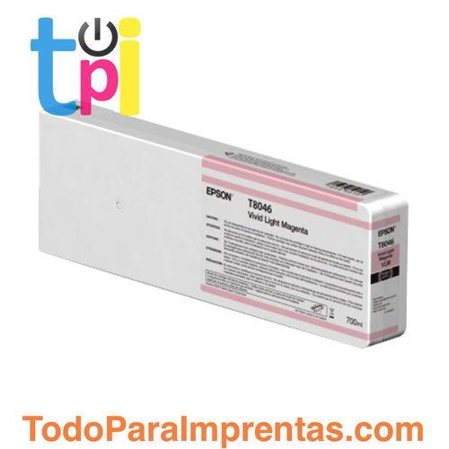Tinta Epson C13T804600 Magenta Claro 700 ml.