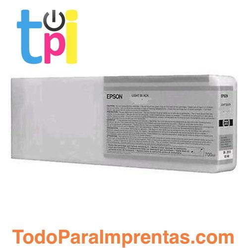 Tinta Epson C13T804700 Gris 700 ml.