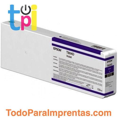 Tinta Epson C13T804C00 Violeta 700 ml.