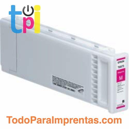 Tinta Epson C13T687300 Magenta 700 ml.