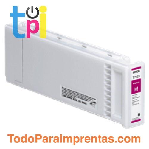 Tinta Epson C13T713300 Magenta 700 ml.
