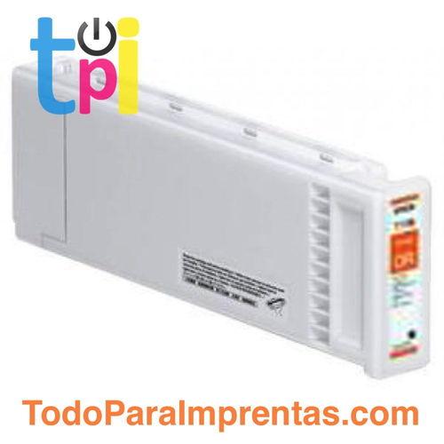 Tinta Epson C13T713800 Naranja 700 ml.