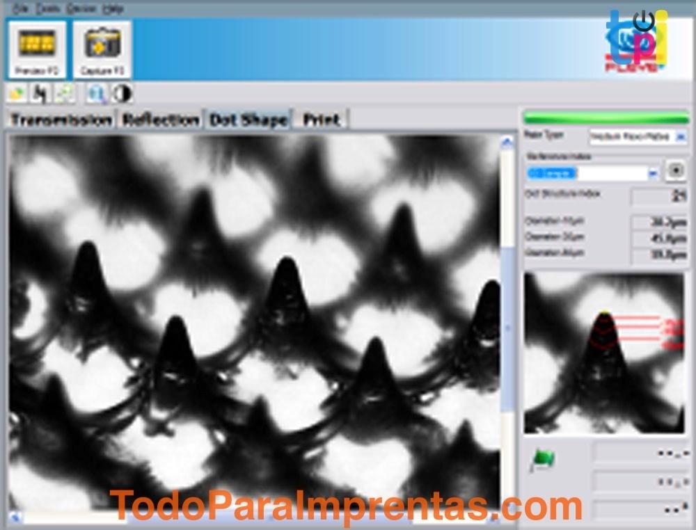Flex3 Pro -Analizador de Planchas Flexográficas