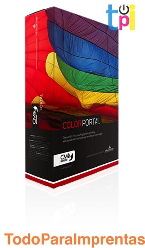 CMA ColorPortal 4UP con Librería Pantone