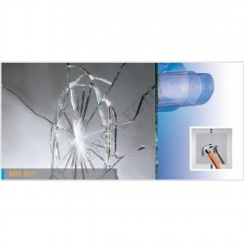 Lamina espejo sin azogue Reflectiv - MIX 551 - 1520mm x 10m