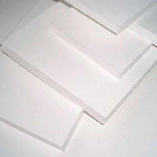 Cartón pluma blanco adhesivo 1 cara