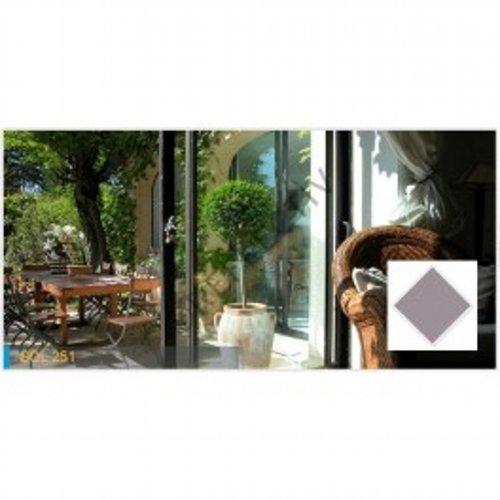 Lamina proteccion solar Reflectiv - SOL 251 - 72% - 1520mm x 10m Bronce metálico. Interior