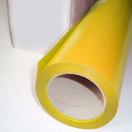 Ps film con soporte adhesivo 500 mm x 25 m yellow