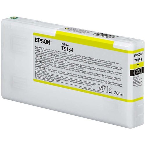 Tinta Epson T913400 Amarillo 200 ml.