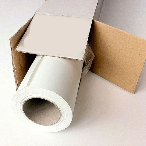 Vinilo blanco brillo blockout Sumach Premium adhesivo permanente, 100 mc.