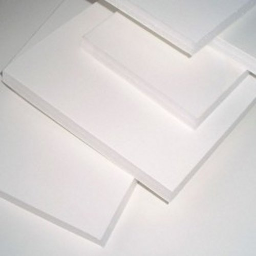 Durafix, cartón pluma blanco adhesivo 1 cara