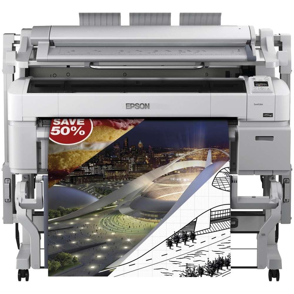 Plotter Epson SureColor T5200 MFP A0/914 mm.+ Escáner - Todo para ...